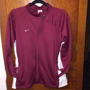 Nike fit dry zip up jacket